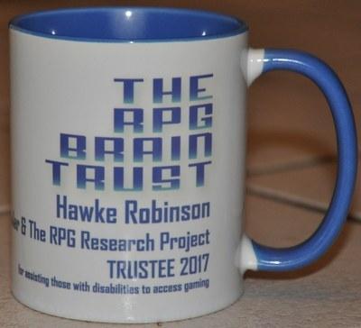 rpg brain trust mug